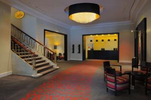 The lobby or reception area at Scandic Palace Hotel