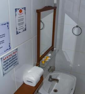 Um banheiro em Pousada Martinez
