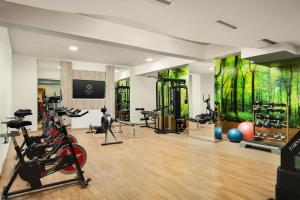 The fitness centre and/or fitness facilities at Royal Sun