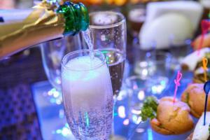 Drinks at Villa Grand