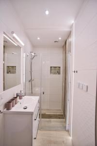 Łazienka w obiekcie Apartamenty Sjesta River