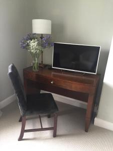 A television and/or entertainment center at Black Bull Gartmore