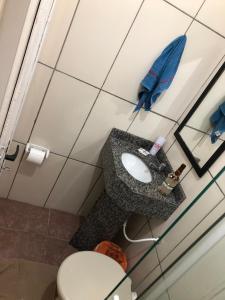 A bathroom at Tony Hotel