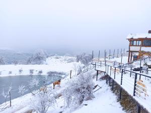 Apaga Resort during the winter
