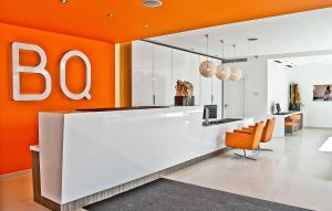 The lobby or reception area at BQ Augusta Hotel