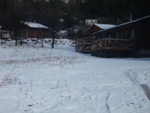 El Parador de Caleu during the winter