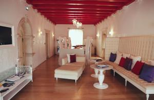 A seating area at Lesic Dimitri Palace