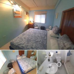 Cama o camas de una habitación en Olón Beach Villa by Rincón d'Olón