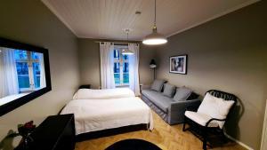Oleskelutila majoituspaikassa Dals Inn
