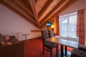 TV/Unterhaltungsangebot in der Unterkunft Hotel garni Sterff