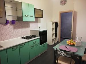 A kitchen or kitchenette at Albergo Roma