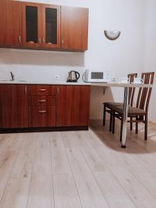 Кухня или мини-кухня в Гостиница Славянка