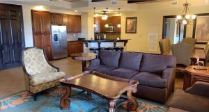 A seating area at Wyndham Bonnet Creek Resort