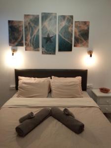 A bed or beds in a room at Apartamento SUN Relax en Fuerteventura