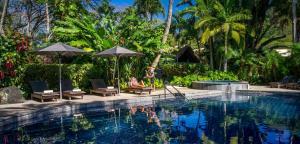 The swimming pool at or near Pacific Resort Rarotonga