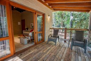 A balcony or terrace at Canto do Irere - Boutique Hotel