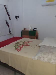 A bed or beds in a room at Apartamento centro salvador