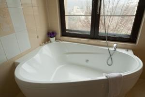 A bathroom at Hotel Panorama