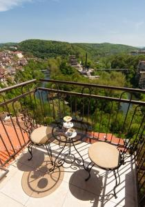 A balcony or terrace at Hotel Panorama