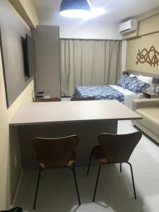 A kitchen or kitchenette at Edificio Time Apto 625