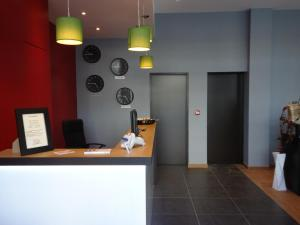 The lobby or reception area at Hotel Mirabeau