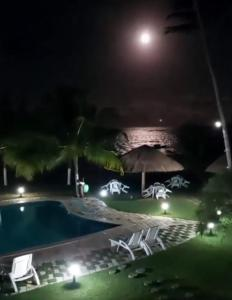 A view of the pool at Albacora Praia Hotel or nearby