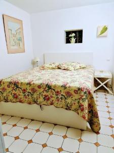 Un ou plusieurs lits dans un hébergement de l'établissement Le Hameau de la Nicolinière