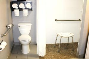 A bathroom at Quality Inn & Suites Bedford West