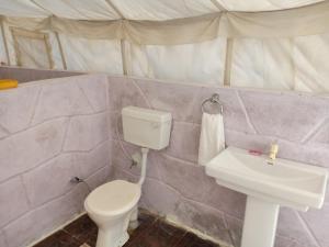 A bathroom at Resort Travel Jaisalmer