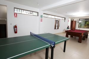 Table tennis facilities at Lunahuana River Resort or nearby