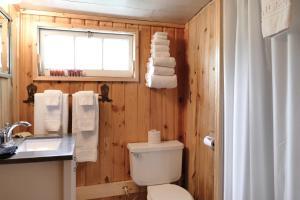 A bathroom at Trail Shop Inn