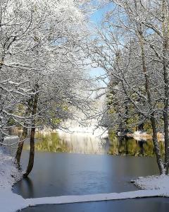 Kučuru dzirnavas during the winter