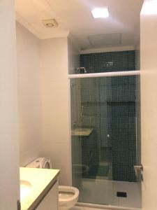 Um banheiro em Reserva Enseada