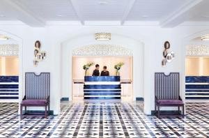 Lobby/Rezeption in der Unterkunft InterContinental Singapore (SG Clean), an IHG Hotel