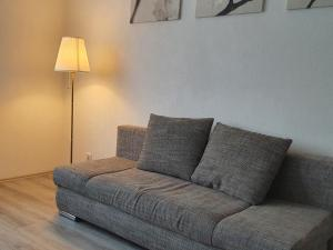 A seating area at Apartment Flora three