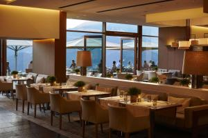 A restaurant or other place to eat at Kempinski Hotel Berchtesgaden