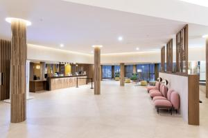 The lobby or reception area at Hotel Riu Palace Jandia