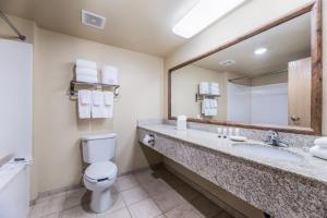 A bathroom at Red Lion Inn & Suites Goodyear