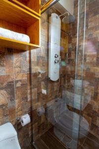 A bathroom at Life Hotel Valle Sagrado