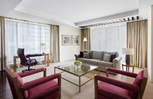 A seating area at The H Dubai