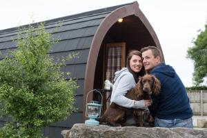 Pet or pets staying with guests at The Little Hide - Grown Up Glamping