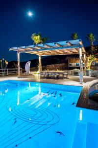The swimming pool at or near Agalia Luxury Suites