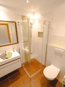 Koupelna v ubytování Haus Wöhrer / Appartement Fischbacher