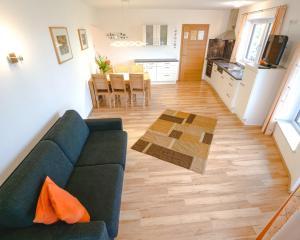 Posezení v ubytování Haus Wöhrer / Appartement Fischbacher
