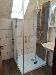 Koupelna v ubytování Apartments Krista