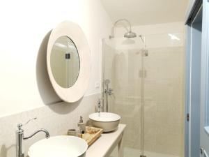A bathroom at B&B Antico Telaio