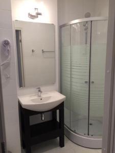 Ванная комната в Лофт Отель
