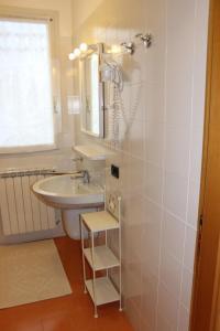A bathroom at Casa di Clara