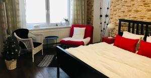 Posezení v ubytování Apartments Centrum