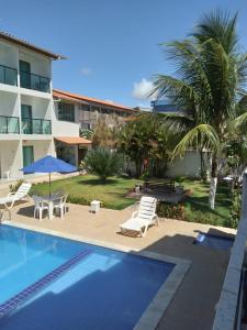A piscina localizada em Pousada Sky Beach Flat ou nos arredores